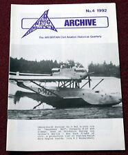 Air Britain Archive 1992 #4