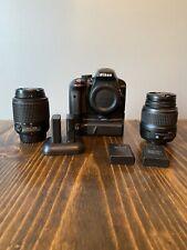 Nikon D3300 Dig SLR Camera (Kit w/ 2 Lens AF-S DX VR II 18-55mm & 55-200mm