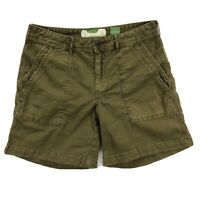 Anthropologie The Wanderer Shorts Womens Size 27 (Measures 30) Brown Canvas