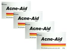 4 Pack Stiefel Acne-Aid BAR Soap for pimple-prone & oily skin 100g.