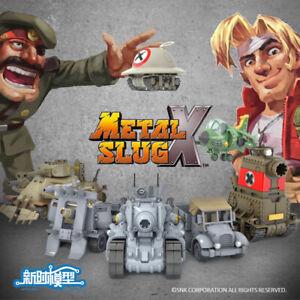 YH SNK NEO Metal Slug X Super Vehicle Tank Flyer 6 in 1 Model Set