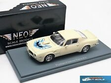 Pontiac Firebird Trans Am white 1973 NEO44745 1:43