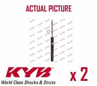 2 x FRONT AXLE SHOCK ABSORBERS PAIR STRUTS SHOCKERS KYB OE QUALITY 365506