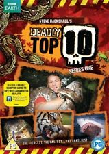 Deadly 60 Deadly Top 10 Season 1 TV Series (Steve Backshall) New DVD R4