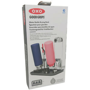 OXO Good Grips Water Bottle Drying Rack for 4 Units Rust Proof