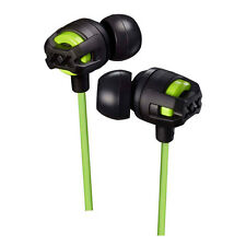 JVC XTREME XPLOSIVES IN EAR HEADPHONES WITH MIC & REMOTE - GREEN - HAFX103MG