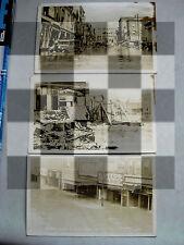 3 lot Vintage 1936 Johnstown Flood PA postcards