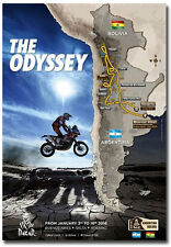 "2016 Dakar Rally Argentina and Bolivia Poster Fridge Magnet Size 2.5"" x 3.5"""