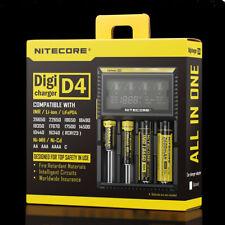 Original NiteCore D4 Charger Battery 14500/16340/18350/18650/18700