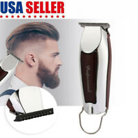 Professional Electric Hair Clipper Trimmer Haircut Machine Barber Shaver Male US