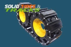 "2 Traxter Skid Steer Over The Tire Tracks Steel OTT 10"", 12"" - Heavy Duty"