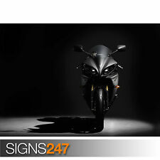 YAMAHA YZF R1 Motorbike Poster 1508 Picture Poster Print Art A0 A1 A2 A3 A4
