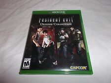 Resident Evil Origins Collection (Microsoft Xbox One, 2016) MINT - Played Once