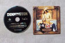 "CD AUDIO MUSIQUE / DENNINGTON ""TWISTED"" 2001 CD SINGLE 2T CARDSLEEVE POP"