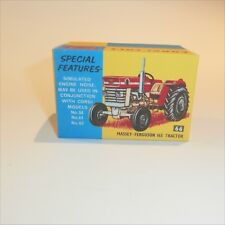 Corgi Toys   66 Massey Ferguson 165 Tractor empty Repro Box