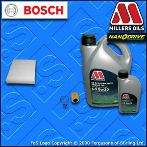 SERVICE KIT OPEL VAUXHALL ASTRA J MK6 2.0 VXR OIL CABIN FILTERS +OIL (2012-2015)