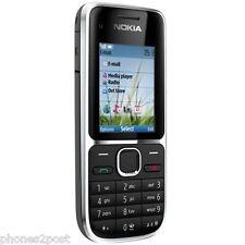 LATEST 3G Nokia C2-01 Black Unlocked Mobile Phone with Vodafone Sim
