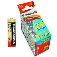 48x AA PANASONIC - VALUE PACK - LR06 - LR6 - MIGNON - SPAR PAKET - PRO POWER