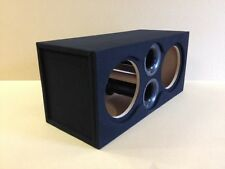 "Ported (Recessed) Subwoofer Box Sub Enclosure for 2 12"" Sundown X-12 Subs - 32hz"