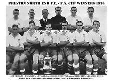 Preston North End F.C. PNE 1938 F.A. Cup Winners FA