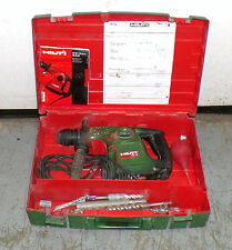 Hilti TE-16 Electric Rotary Hammer Drill with 11 Bits & Attachments & Manual