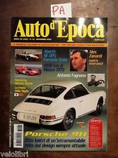 AUTO D'EPOCA Dicembre 2003 - Porsche 911, Fagnano, Zanardi, Mille Miglia