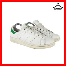 Adidas Adicolor Stan Smith Mens Trainers White Green Leather UK 5.5 / 38 Sneaker
