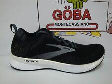 BROOKS LEVITATE 4 - BLACK/BLACKENED PEARL/WHITE - UOMO 110345 1D 012