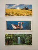 Blank  Greeting Card Mix Australian wild x 7 cards @2