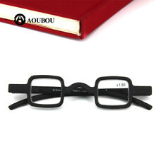 Agstum Mens Womens Vintage Small Square Round Readers Reading Glasses