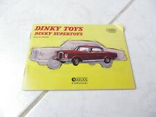 Catalogue 1963 2eme edition Dinky Toys Supertoys Atlas