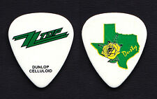 Zz Top Dusty Hill Yellow Rose of Texas White Guitar Pick - 2011-2012 Tour