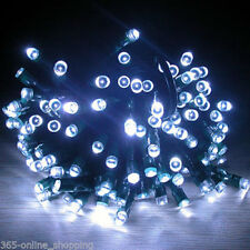300 Bright White Chasing LED Indoor/Outdoor Garden Christmas String Fairy Lights