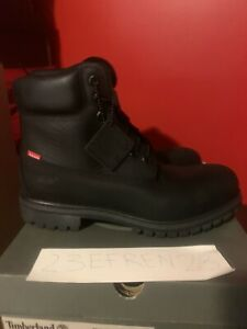 timberland supreme hommes 6230a black size 10.5 new In box