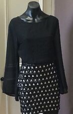 None The Richer dress Size 8 Cocktail Party Sequins Bling Stunning