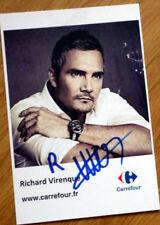 cyclisme Carte signée Tour de France Richard VIRENQUE Carrefour