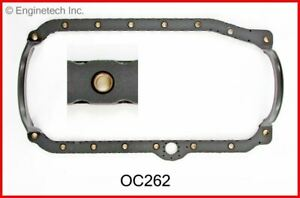 Gasket Oil Pan Fits Chevy 4.3L 262