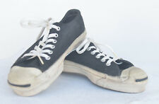 JACK PURCELL VINTAGE SNEAKERS MADE IN USA SIZE 4.5 MENS BLACK SUEDE UPPERS