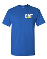 Caterpillar T shirt Men CAT Graphic Logo tractor Tee, FREE shipping