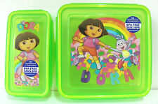 Dora Sandwich and Snack Lunch Box