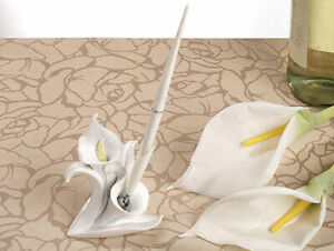 Calla Lily Design Wedding Pen Set