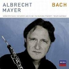 """Albrecht Mayer """"Bach opere per oboe & CORO"""" CD + DVD NUOVO"""