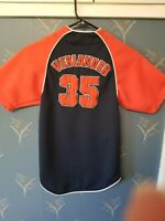 JUSTIN VERLANDER Jersey - MLB Detroit Tigers - Stitched - True Fan - 6/7 Youth