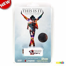 Kingston DataTraveler 2 GB USB 2.0 Flash Drive Michael Jackson This is It Movie