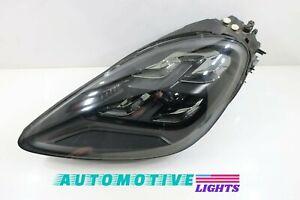 GENUINE OEM|2019-2020 Porsche Cayenne LED Headlight (Left/Driver) w/o LED Module