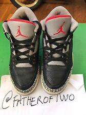 Used Authentic Nike Air Jordan 3 III From 2001 US Size 8 UK Sz 7 Oregon Ducks