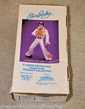 """ELVIS PRESLEY 1984 Celebrity Collection 21"""" Vinyl BURNING LOVE DOLL Graceland LE"""