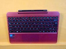 ASUS Transformer Book T100H T100HA #y UK Keyboard Docking Station Pink 034