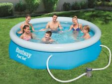 Bestway Fast Set pool + bomba de filtro piscina 305x76 cm * nuevo * OVP