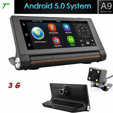 "GPS Navi Android 5.0 7"" HD 1080P  Car DVR System Backup Cam 16GB Bluetooth FM"